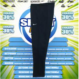 Nike спортивные штаны (большие размеры) (цв.синий) 00003