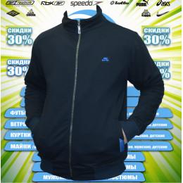 Nike кофта (спортивный костюм)  большие размеры   Турция (цв.тем.синий) 00001