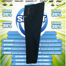 Nike спортивные штаны (большие размеры) (цв.синий) 00005