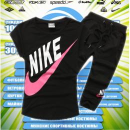 Nike бриджи женские (черные) 00001