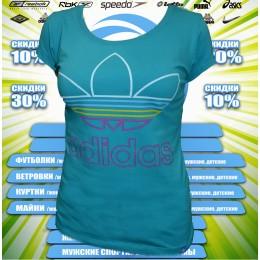Adidas футболка (цв.мята) 00002