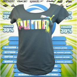 Акция !!!! Puma футболка (цв.серый) 00004