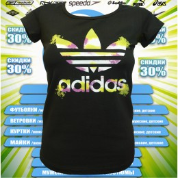 АКЦИЯ !!! Adidas футболка (цв.черный) 00005