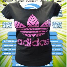 АКЦИЯ !!! Adidas футболка (цв.черный) 00006
