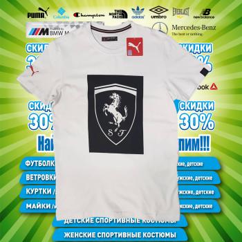Puma Ferrari БАТАЛ мужская футболка