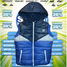 Adidas жилетка (цв.синяя)  00004