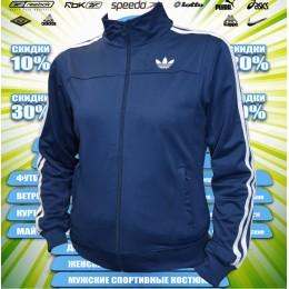 Adidas кофта (спортивный костюм)  (цв.синий) 00012