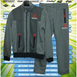 Reebok кофта спортивная подросток (спортивный костюм) 00030