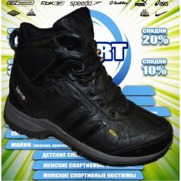 Adidas  кроссовки  зима (цв.черные) 00017