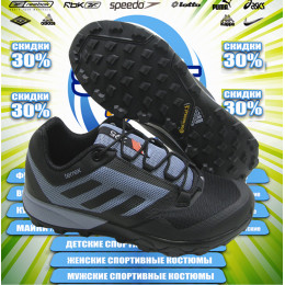 Adidas Terrex 2017 кроссовки (цв.черный)  00011