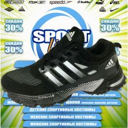 Adidas Marathon кроссовки (цв.черный) 00083