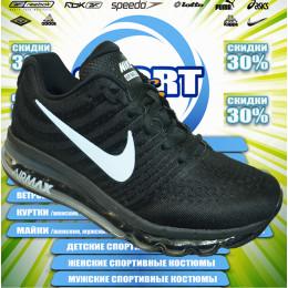 Nike AIR MAX кроссовки (цв.черный) 00012