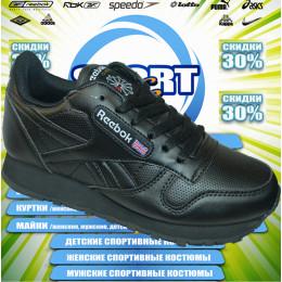 Reebok кроссовки (цв.черный) 00001