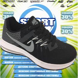 Nike Zoom кроссовки (цв.черный) 00050