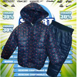 Classic детская  куртка демисезонная (цв.тем.синий) 00007