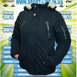Sport куртка парка (цв.синий) 00002