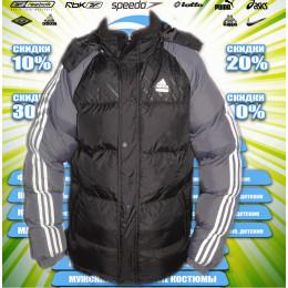 Adidas куртка зима (цв.черный) 00064