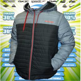 Куртка Adidas Porsche Design (св.серый/черный)