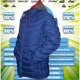 Remain куртка  удлиненная зима (цв.синий) 00067