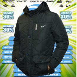 Nike куртка зима (цв.черный)  00007