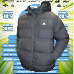 Adidas  куртка   (цв.серая) зима 00005