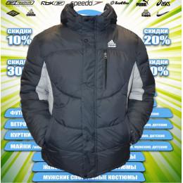 Adidas куртка зима (цв.серый) 00068