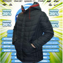 Remain куртка удлиненная зима (цв.черная) 00070
