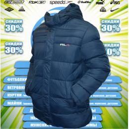 RLX куртка удлиненная зима (цв.синяя) 00073