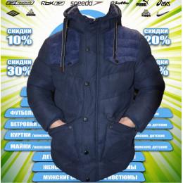 Classic куртка-парка зима (цв.синий) 00062