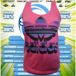 Adidas спортивная  женская майка  00007