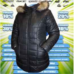 Classic пальто женское (цв.черный) 00004