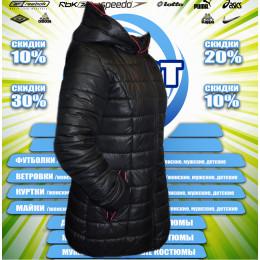 Classic пальто женское (цв.черный)  00002