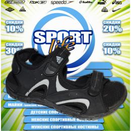 Adidas сандали (цв.черный) 00006