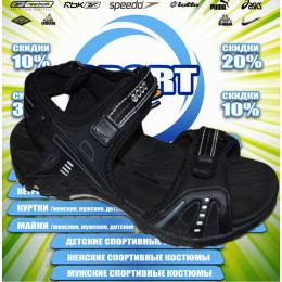 Ecco сандали (цв.черный) 00010