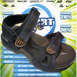 Nike сандали (цв.черный) 00002