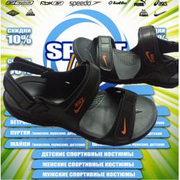 Nike сандали (цв.черный) 00003