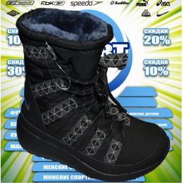Nike спортивные сапожки (цв.черный)зима 00005