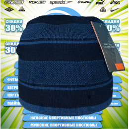 SHADO шапка зима (синяя) 00008