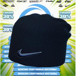 Nike спортивная шапка (тем.синяя)   00003