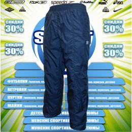 Adidas  штаны  (цв.синий) 00042