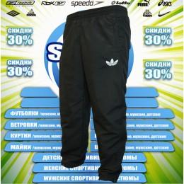 Adidas штаны-микрофибра (цв.черный) 00053