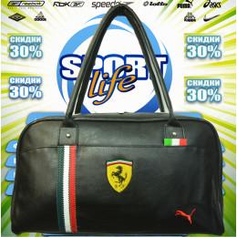 Ferrari сумка женская (цв.черный) 00001