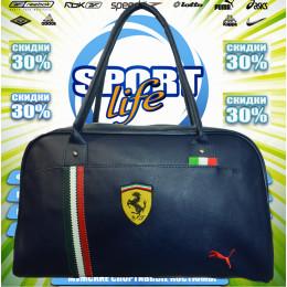 Ferrari сумка женская (цв.синий) 00002