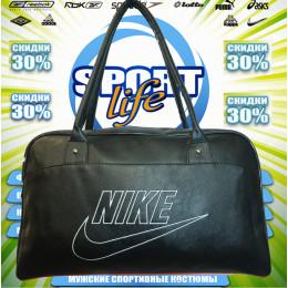 Nike сумка женская (цв.черная) 00004
