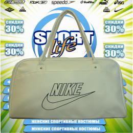 Nike сумка женская (цв.белая) 00005