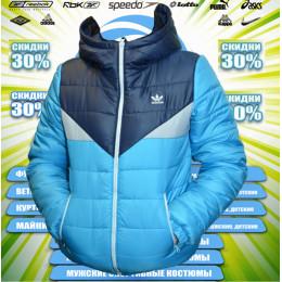 Adidas демисезонная куртка весна (цв.бирюза) 00019