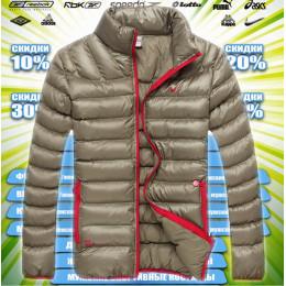 Nike Куртка демисезонная (цв.золото) 00018