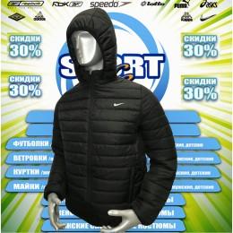 Nike ветровка  (цв.черный) 00011